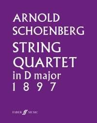 Schoenberg, Arnold: String Quartet in D major (parts)