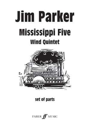 Parker, Jim: Mississippi Five. Wind quintet (parts) Product Image