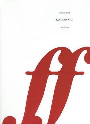 Byrd, William: Fantazia No.1 for recorders (parts)