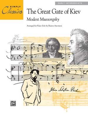 Modest Mussorgsky: Great Gate of Kiev
