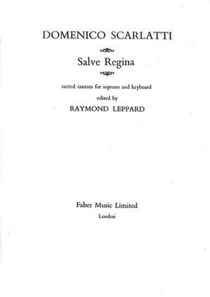 Scarlatti, Domenico: Salve Regina (soprano and keyboard)