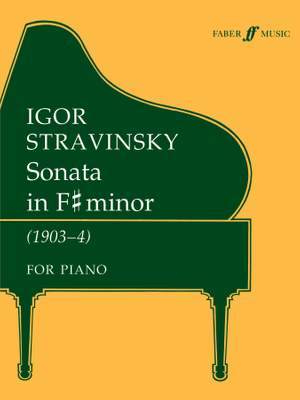 Stravinsky, Igor: Sonata in F sharp minor (piano)