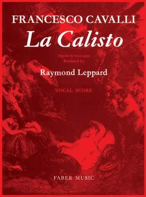 Cavalli, Francesco: La Calisto (vocal score)