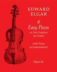 Elgar, Edward: Six Easy Pieces (violin and piano)
