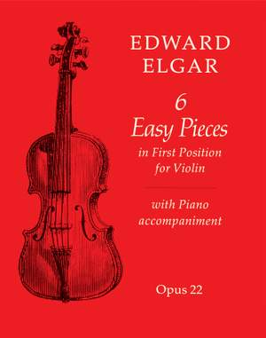 Elgar, Edward: Six Easy Pieces (violin and piano)