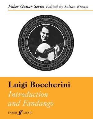 Boccherini, Luigi: Introduction & Fandango (guitr & hpschd)