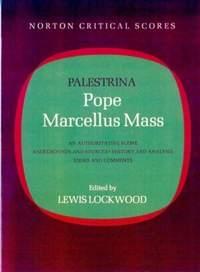 Palestrina: Pope Marcellus Mass
