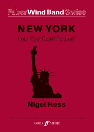 Hess, Nigel: New York. Wind band (score and parts)