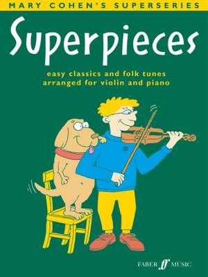 Cohen, Mary: Superpieces (violin and piano)