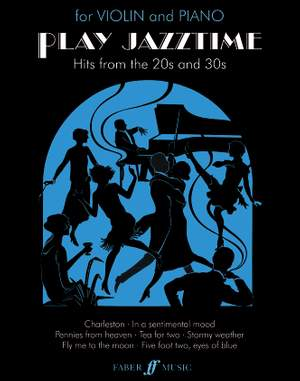 Huws Jones, Edward: Play Jazztime (violin and piano)