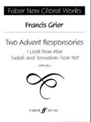 Two Advent Responsories. SATB
