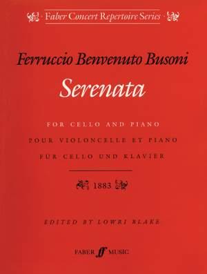 Busoni: Serenata Op.34 (cello and piano)