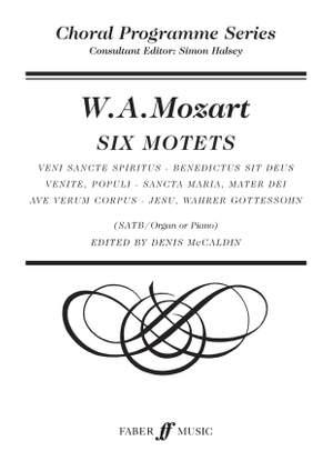 Wolfgang Amadeus Mozart: Six Motets