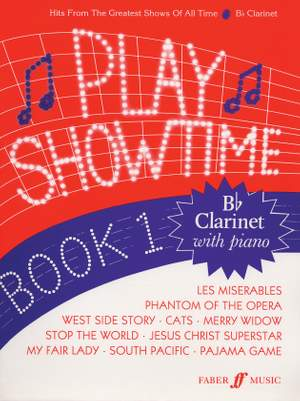 Glover, F: Play Showtime Book 1 (clarinet & piano)