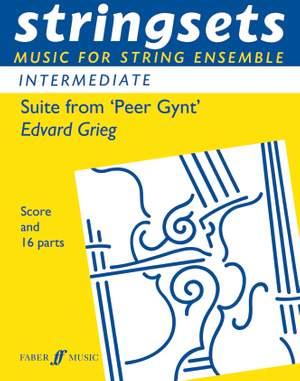 Grieg, Edvard: Peer Gynt Suite (stringsets)
