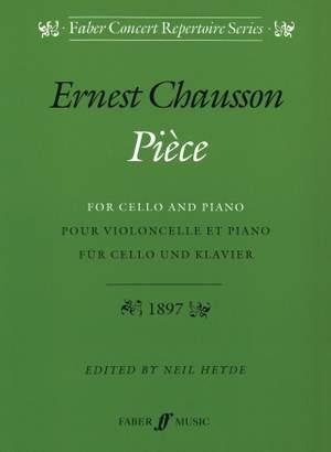Ernest Chausson: Pièce Op.39