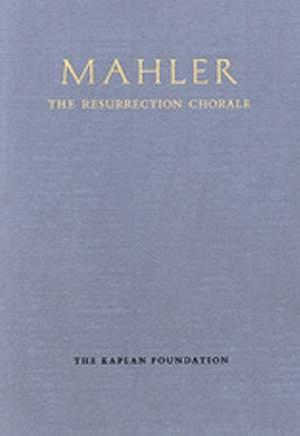 Mahler, G: Resurrection Chorale (facsimile)
