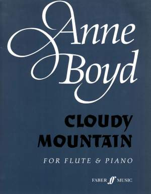 Boyd, Anne: Cloudy Mountain (flute and piano)