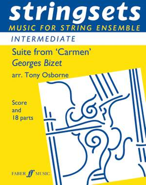 Bizet, Georges: Suite from Carmen. Stringsets (sc & pts)