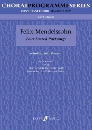 Felix Mendelssohn Bartholdy: Four Sacred Partsongs