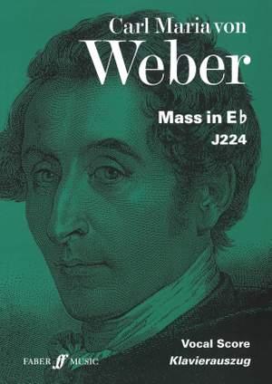 Carl Maria von Weber: Mass In E Flat - Vocal Score
