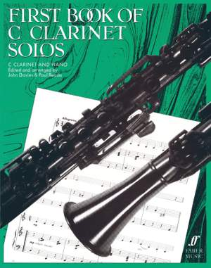 Davies, J: First Book of C Clarinet Solos (compl.)