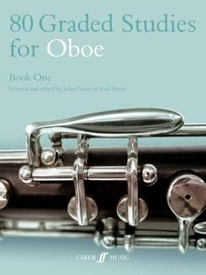 80 Graded Studies for Oboe Book 1