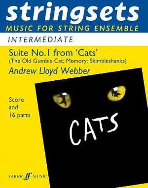 Lloyd Webber, Andrew: Cats Suite 1. Stringsets (score & parts)