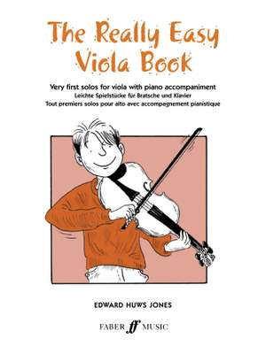 Huws Jones, Edward: Really Easy Viola Book (with piano)