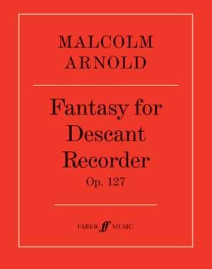 Arnold, Malcolm: Fantasy for Descant Recorder