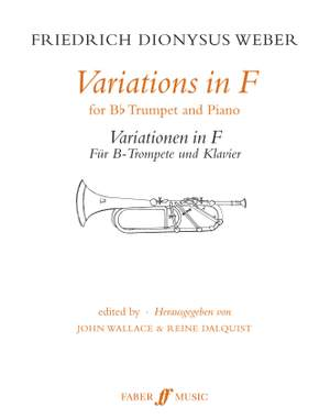 Friedrich Dionysus Weber: Variations in F