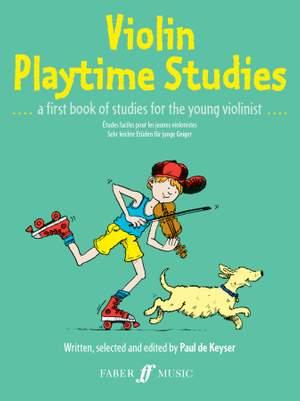 Paul de Keyser: Violin Playtime Studies