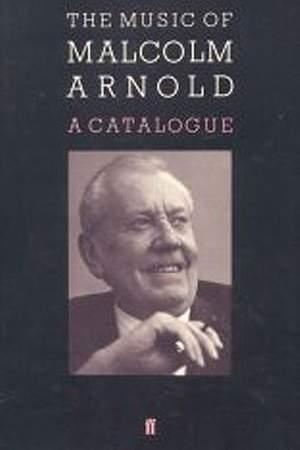 Alan Poulton: Malcolm Arnold. Catalogue of works