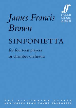Brown, James Francis: Sinfonietta (score)