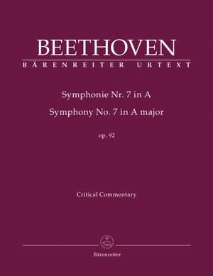 Beethoven, L van: Symphony No.7 in A, Op.92 (Urtext) (ed. Del Mar)