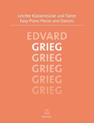 Grieg, E: Easy Piano Pieces and Dances