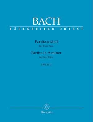 Bach, JS: Partita in A minor (BWV 1013) (Urtext)