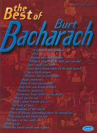 Burt Bacharach, The Best of (PVG)