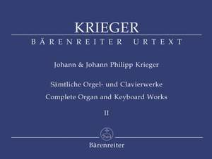 Krieger, J: Complete Organ and Keyboard Works, Vol.2 (Urtext). Works from copied sources / Works of uncertain authenticity