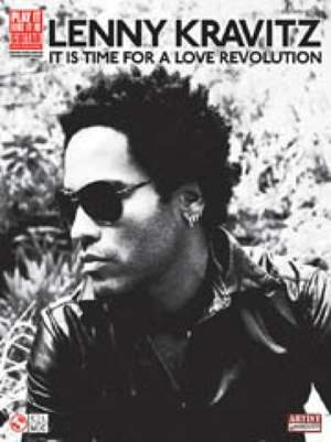 Kravitz, Lenny: It is Time for a Love Revolution (GTAB)