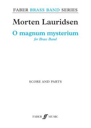 Lauridsen, Morten: O magnum mysterium (bband score & parts)