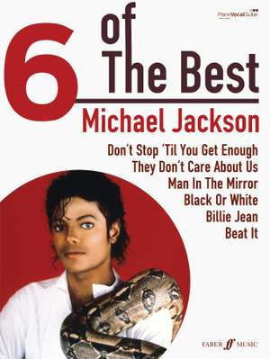 Michael Jackson: Six of the Best Product Image