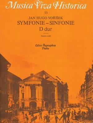 Vorisek, J V: MVH 55 Symphony D Maj Pno Duet
