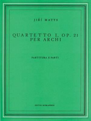 Matys: String Quartet No1 (Parts & Score)