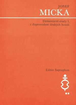 Micka, J: Elementary Studies Bk.1 (Cz)