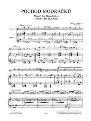 Janacek, Leos: March of the Bluebirds Flute/Picc & Pno