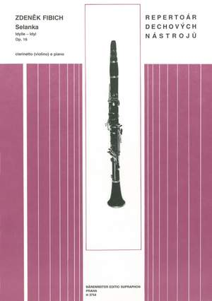 Fibich, Zdenek: Idyll Op16 Clarinet & Piano