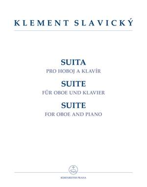 Slavicky, Klement: Suite For Oboe & Piano Product Image
