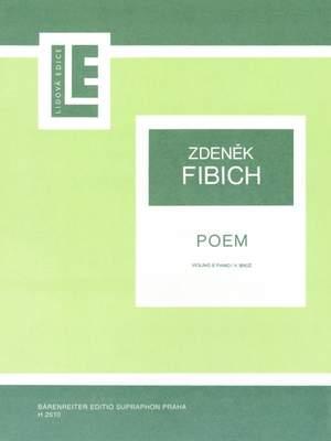 Fibich, Zdenek: Poem Violin & Piano