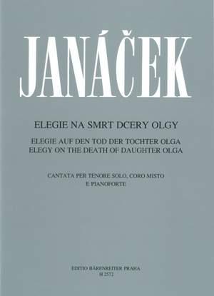 Janacek, L: Elegy on the Death of Daughter Olga (Cz-G-E)